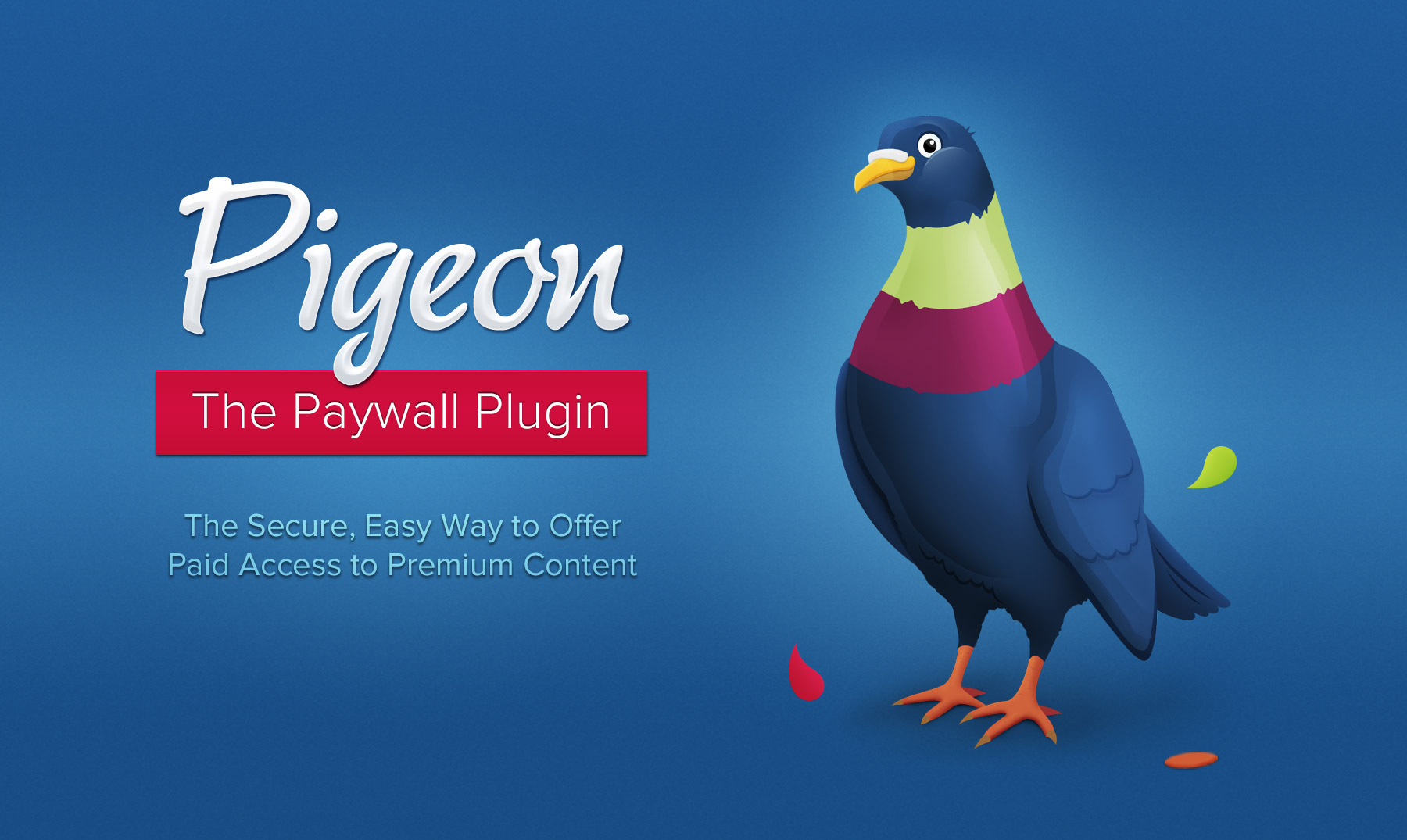 Pigeon Paywall Plugin for Paid Content and Subscription Management